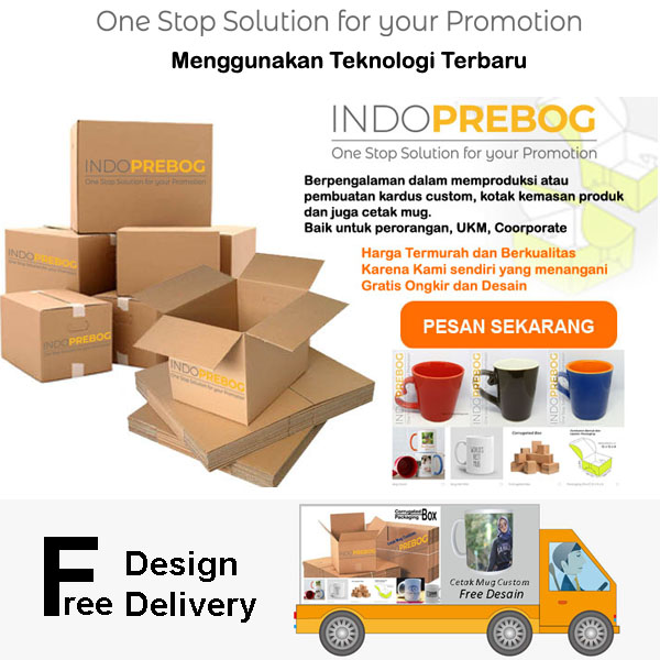 supplier pembuatan kardus polos dan packaging box